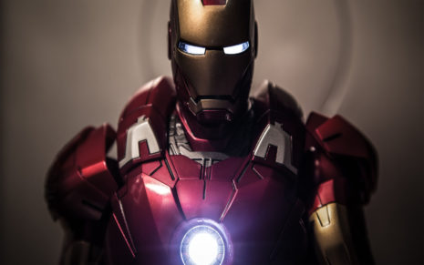 Toy of Iron Man HD wallpaper
