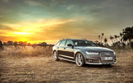 Audi A6 HD wallpaper