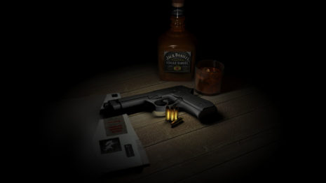 Beretta in dark HD wallpaper