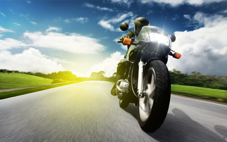 Bike in speed HD wallpaper .