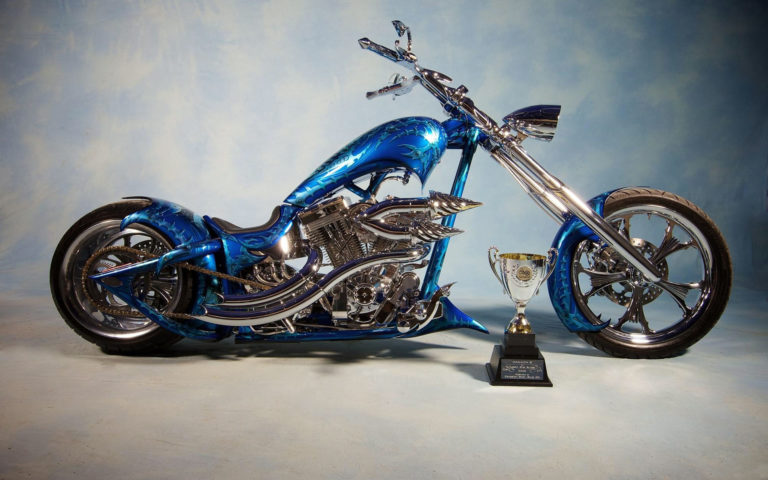 Chopper with trophy HD wallpaper
