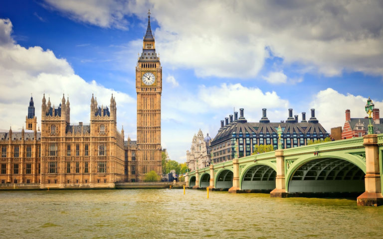 Clock Tower Big Ben HD wallpaper