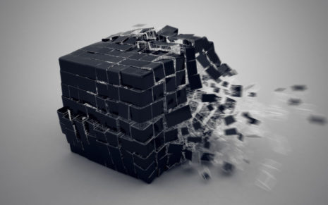 Cube burst HD wallpaper