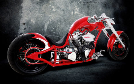 Custom bike beauty HD wallpaper