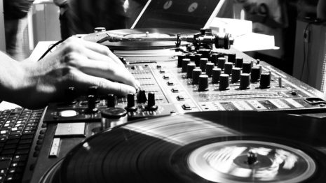 DJ installation HD wallpaper