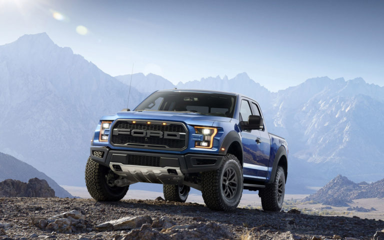 Ford Blue Raptor HD wallpaper