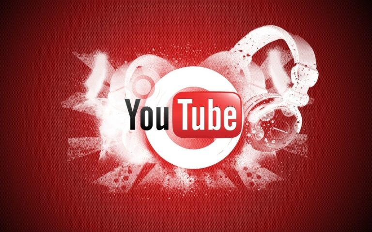Logo of YouTube HD wallpaper 1