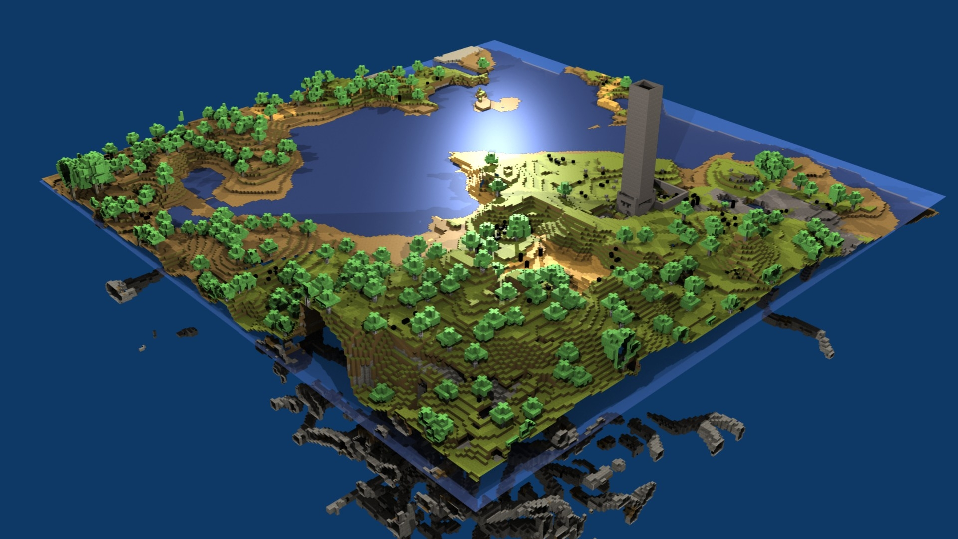 Minecraft world map hd wallpaper hd latest wallpapers minecraft world map hd wallpaper gumiabroncs Image collections