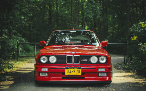 New BMW Red HD wallpaper