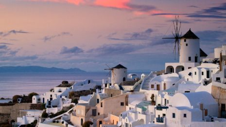 Oia Greece HD wallpaper