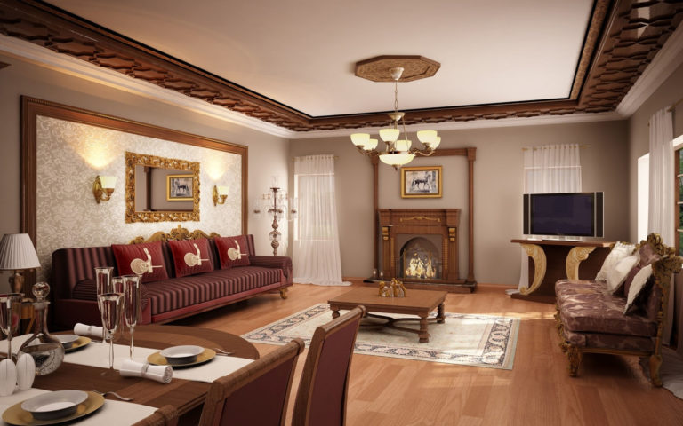 Old style interior HD wallpaper