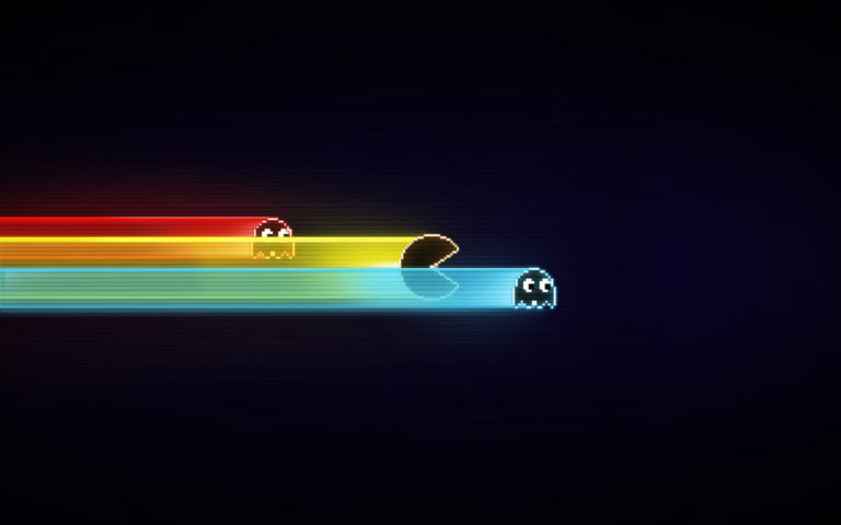 Pacman speed HD wallpaper