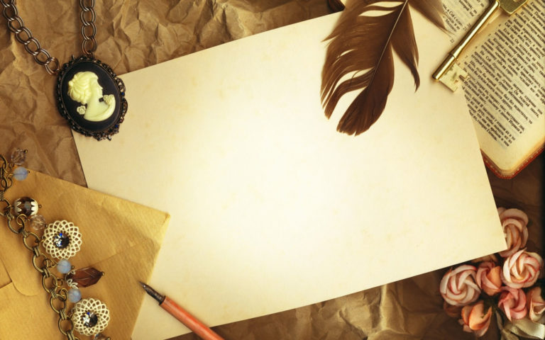 Paper pen & book HD wallpaper