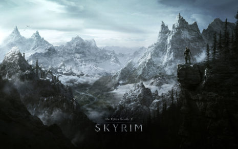 Skyrim 5 HD wallpaper