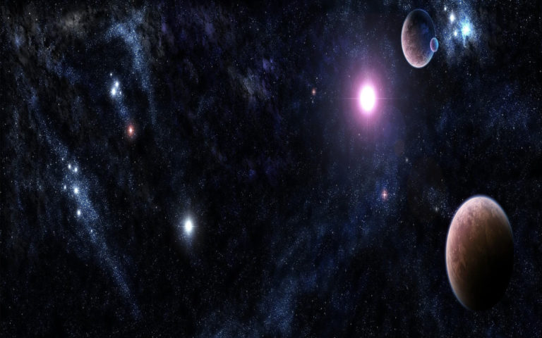 The Bright Universe HD wallpaper