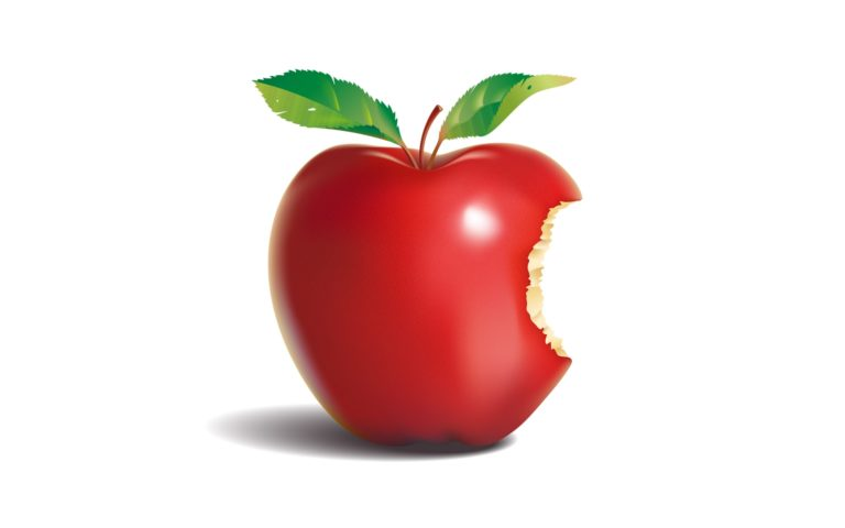 The Reddish Apple HD wallpaper