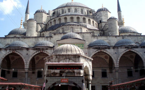 Turkey Big Mosque HD wallpaper
