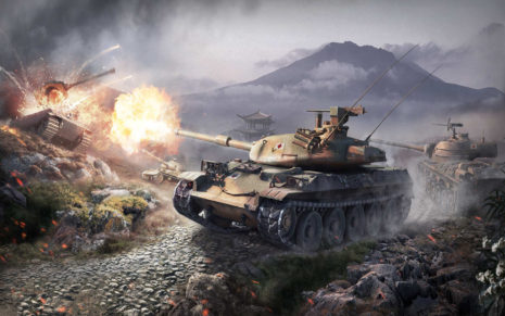 World of tanks fight HD wallpaper