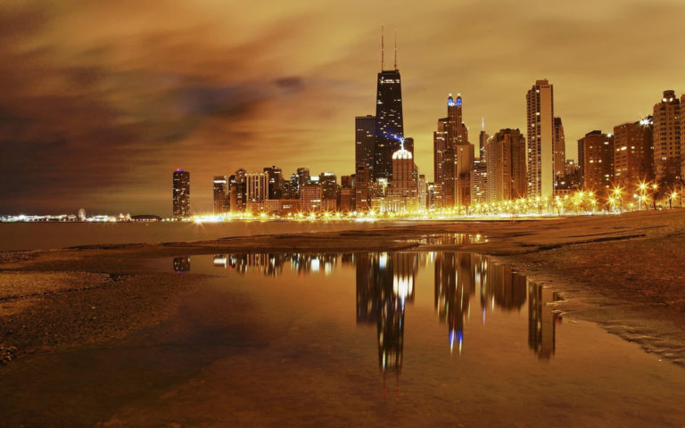 Astonishingly beautiful city HD wallpaper