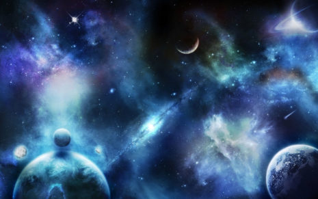 Bright & amazing space HD wallpaper