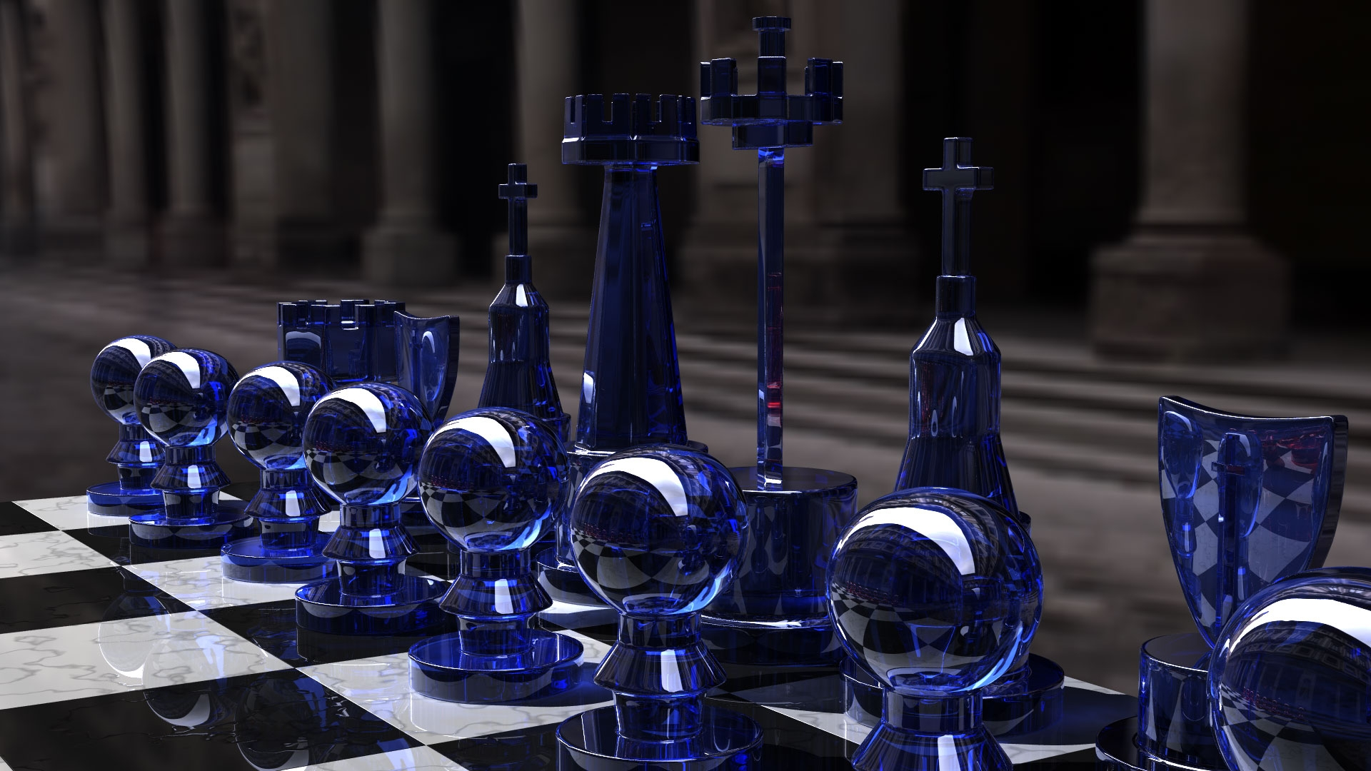 chess board on table hd wallpaper hd latest wallpapers
