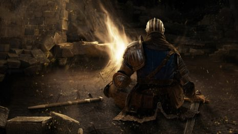 Dark souls bonfire HD wallpaper