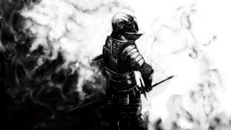 Dark souls steel armor HD wallpaper