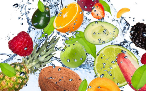 Fruits fun HD wallpaper