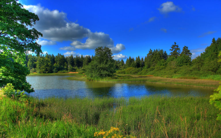 Hessen Lake HD wallpaper