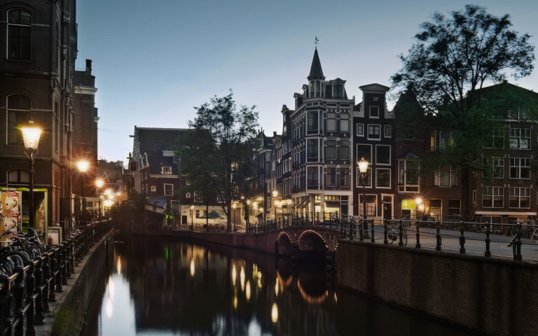 Holland Amsterdam HD wallpaper