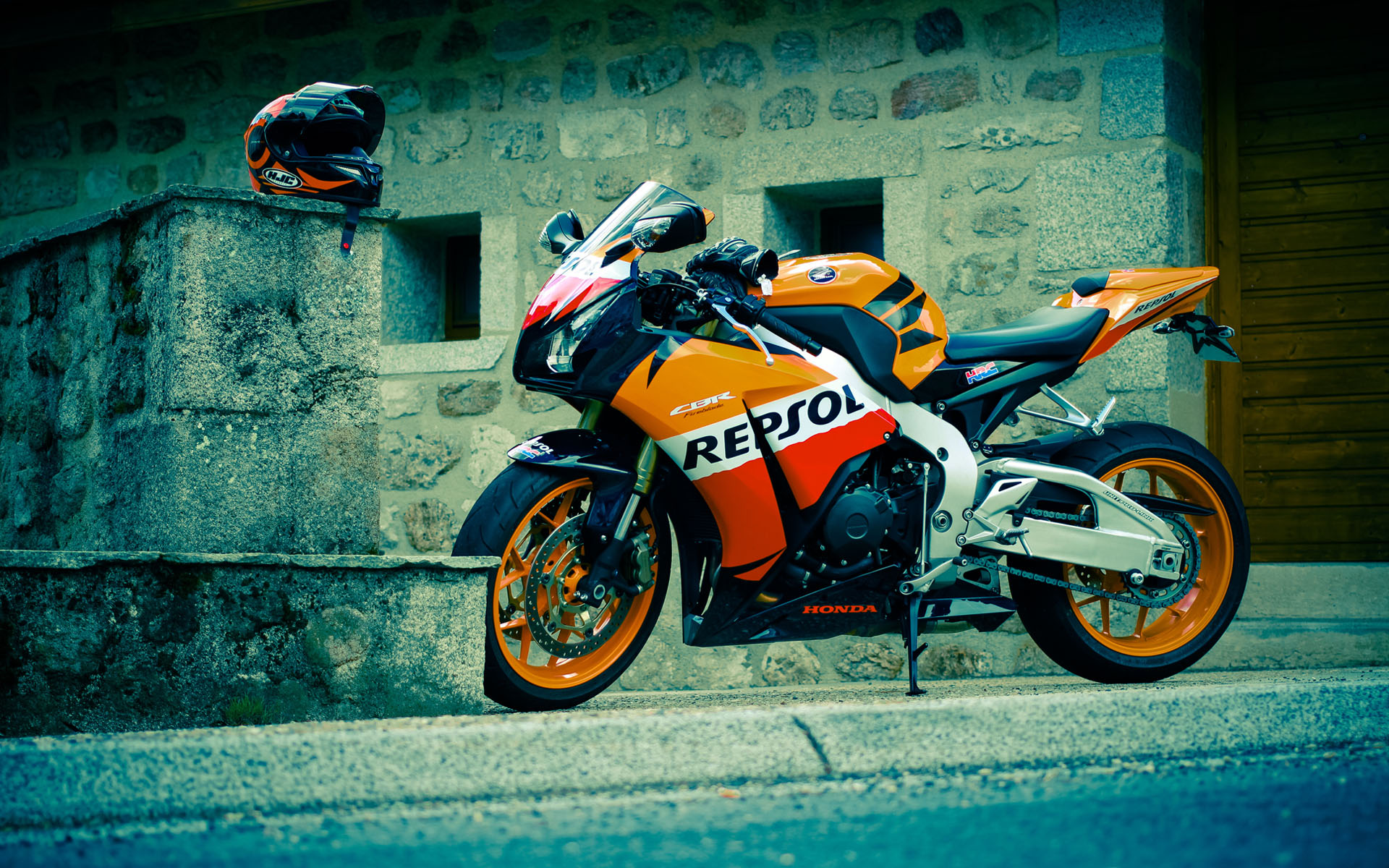 Honda Repsol Wallpaper Motorcycle: Honda CBR Repsol HD Wallpaper