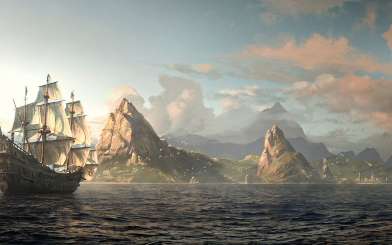Pirate Edward Kenway HD wallpaper