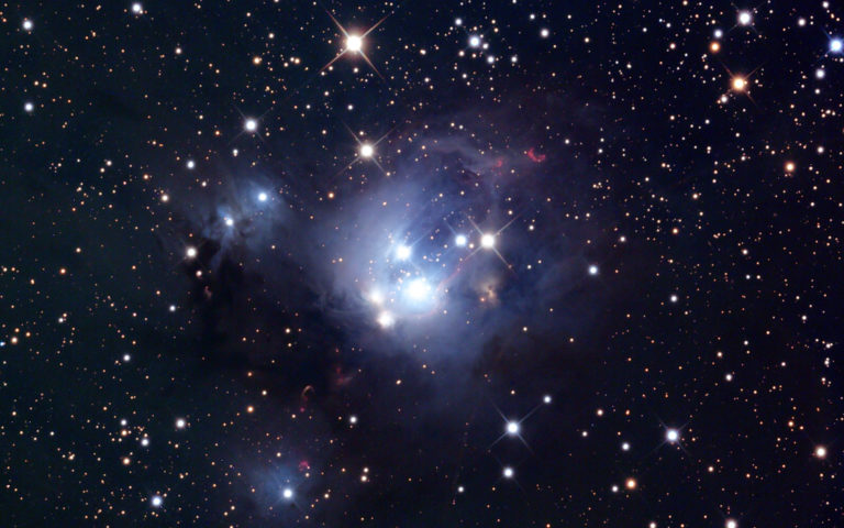 Star cluster 7129 HD wallpaper