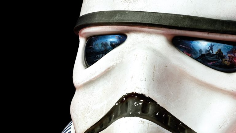 Stromtrooper close up HD wallpaper