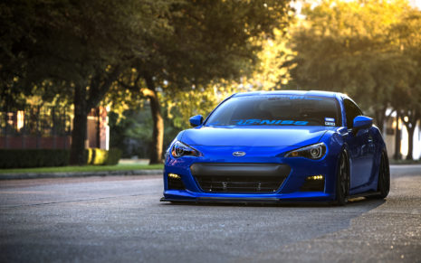 Subaru sports car HD wallpaper