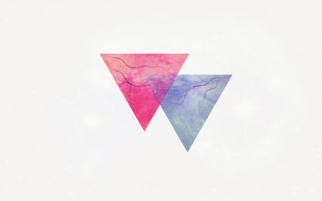 Triangle art HD wallpaper