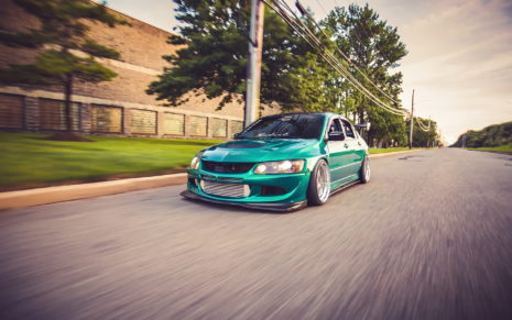 EVO 8 Mitsubishi lancer HD wallpaper
