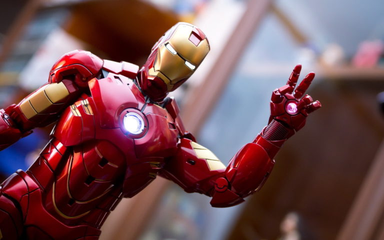 Iron man gesture HD wallpaper