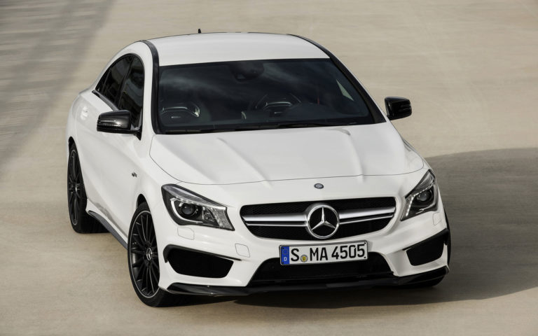 Mercedes CLA45 HD wallpaper