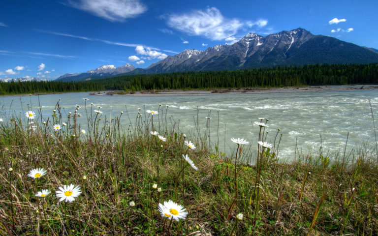 Rivers of Canada HD wallpaper