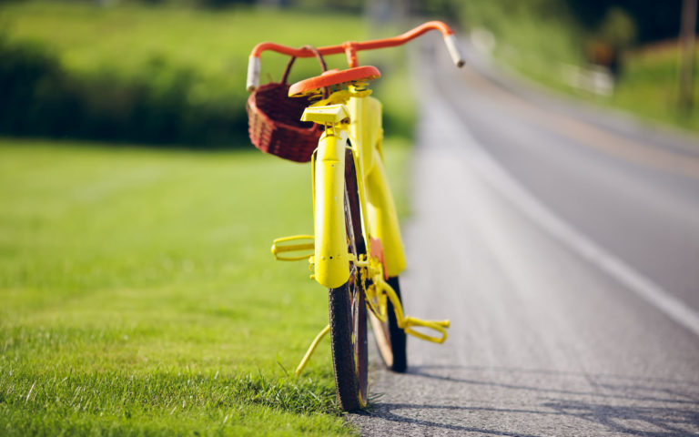 Summer Biking HD wallpaper