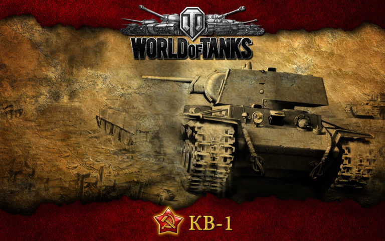 Tank Ussr Kv-1 HD wallpaper