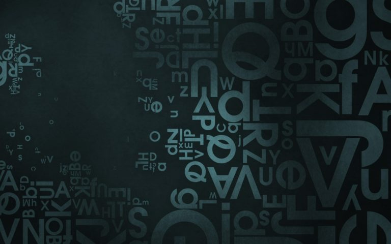 The great word art HD wallpaper