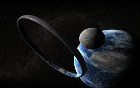 The space ring HD wallpaper