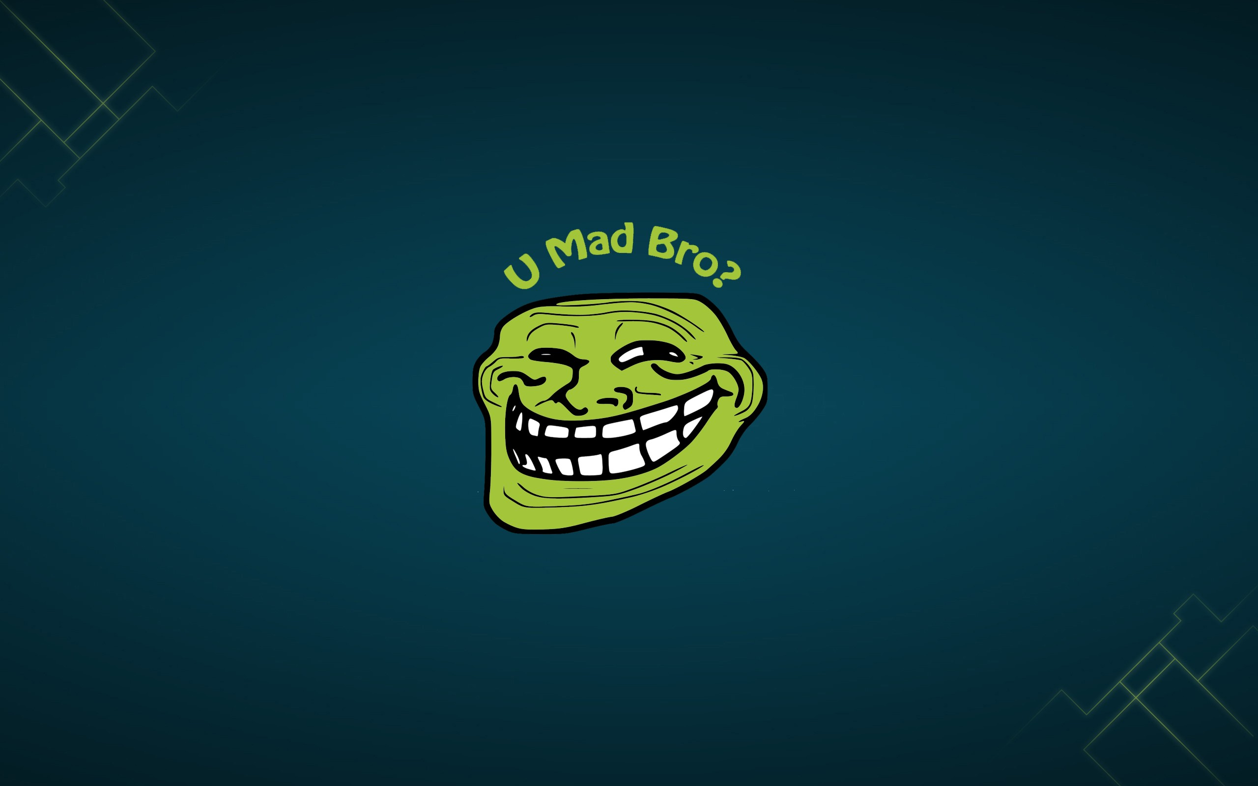 Green Troll Face Wallpaper Hd Latest Wallpapers