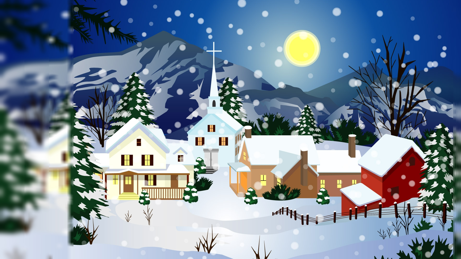 Animated Christmas Hd Wallpaper Hd Latest Wallpapers