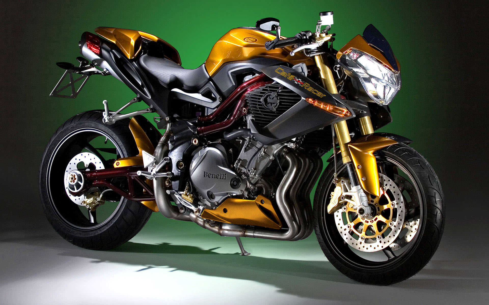 Benelli Cafe Racer 1130 HD Wallpaper